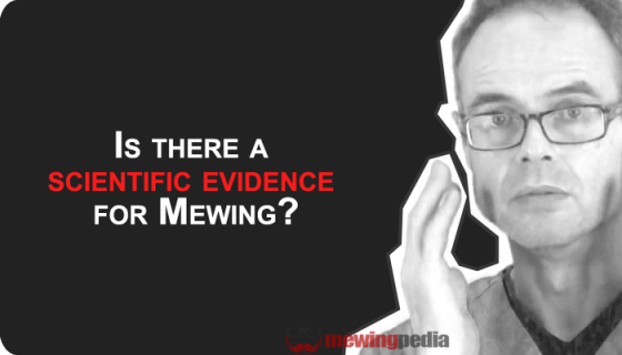 scientific evidence for mewing | mewingpedia.com