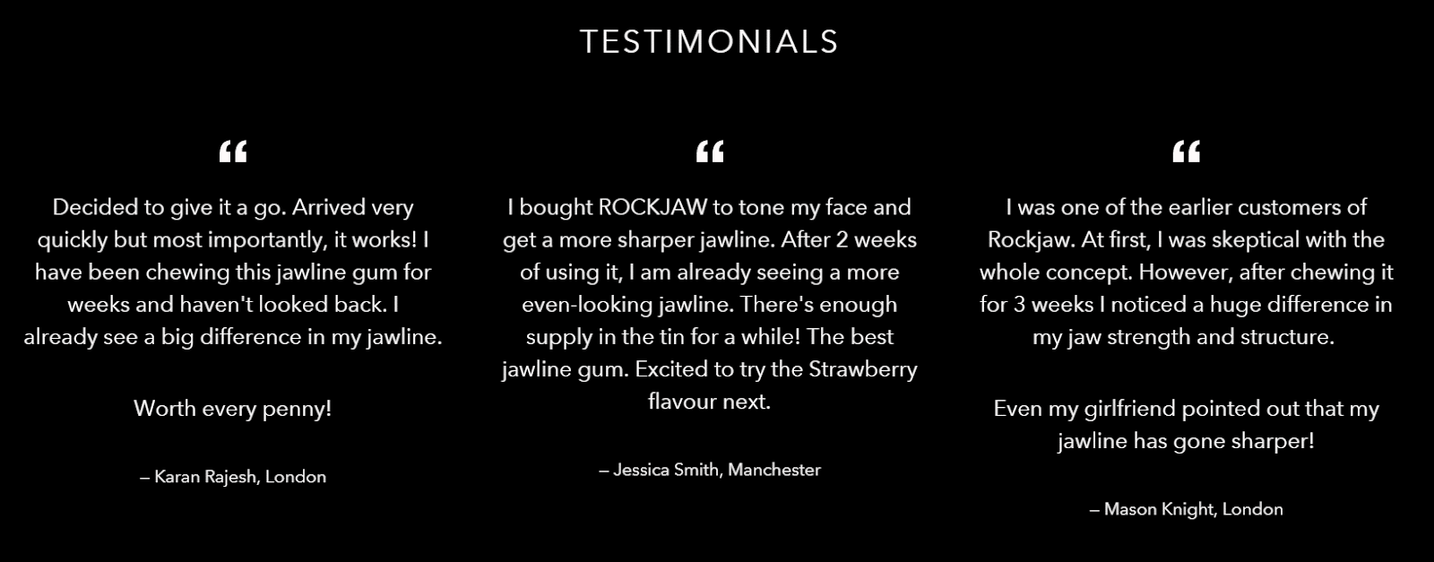 Rockjaw Review